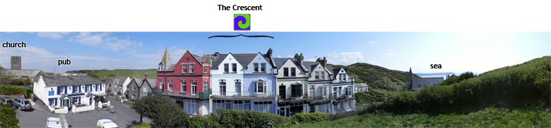 the crescent, mortehoe